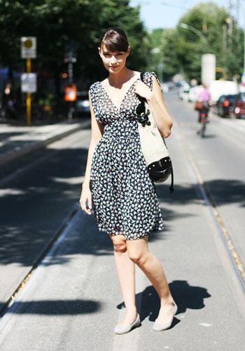 街拍德国潮人时尚服饰搭配
