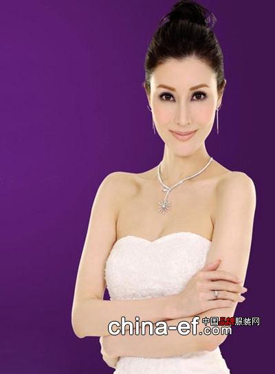 李嘉欣珠宝广告大片 绽放璀璨光芒 高清图片