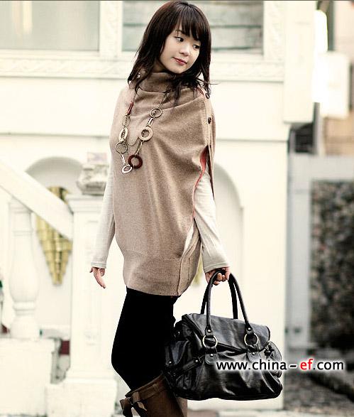 韩国街头的休闲品牌服饰搭配