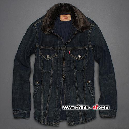 日本levis品牌男装牛仔外套