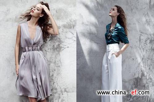 欧美08春夏品牌服饰 弥漫时尚女人味