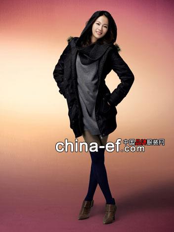 韩国hangten品牌服饰凸出女性曲线美