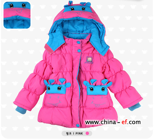 可爱公主 韩国时尚儿童服装巧搭配