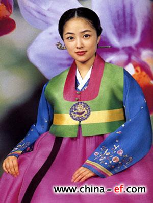 韩国奢华富贵的民族服装