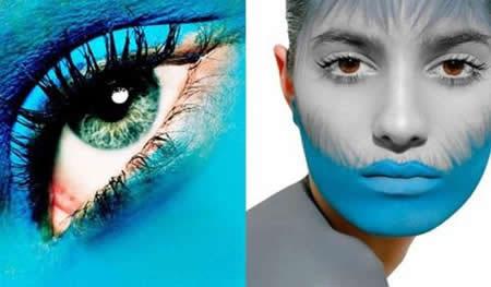 创意彩妆妆面设计图 25彩妆妆面设计图 创意彩妆妆